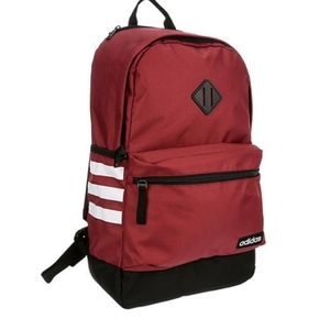 Adidas  Authentic  red big comfortable backpack